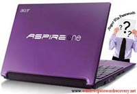 Aspire Password reset
