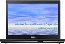 Dell Latitude password reset