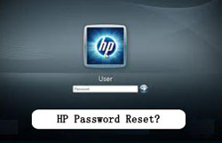 HP password reset