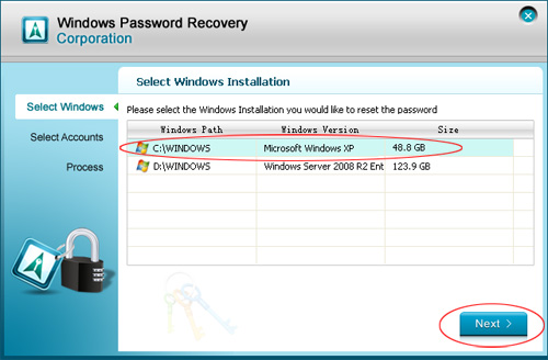 how to change administrator password in windows xp